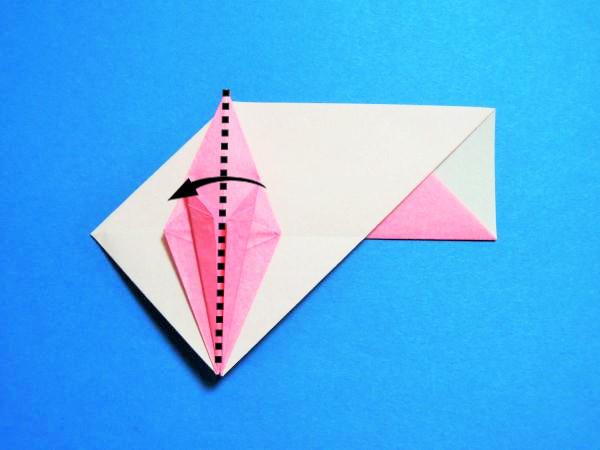 ハート 折り紙:折り紙 箸袋 鶴-xn--o9ja9dn55ayerin411bcd3afbgz3gd4y.jp