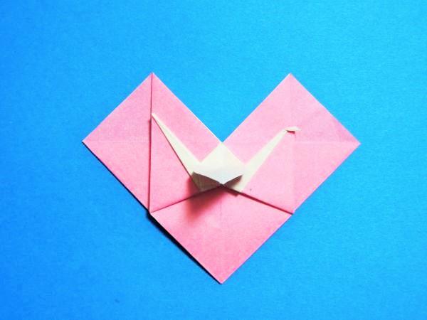 ハート 折り紙:長方形 折り紙 ハート-xn--o9ja9dn55ayerin411bcd3afbgz3gd4y.jp