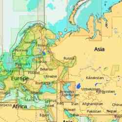 C-Map Max-N+ Übersichtskarte