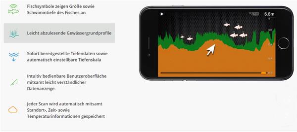Deeper Start Fishfinder App