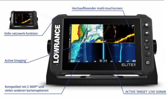 Lowrance Elite FS Live Sonar