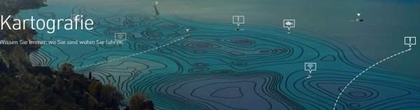 Lowrance Kartographie