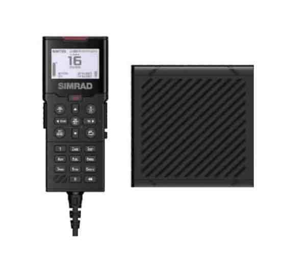Simrad HS100 Mobilteil und SP100 Lautsprecher