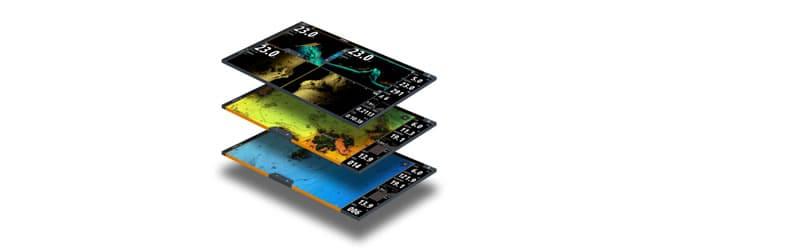 Simrad NSS evo3S Fishfinder Displays