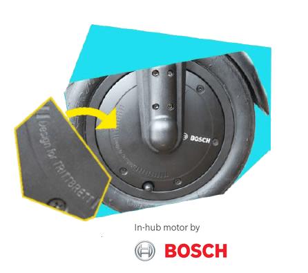 Trittbrett Kalle Touring Boschdesign 2