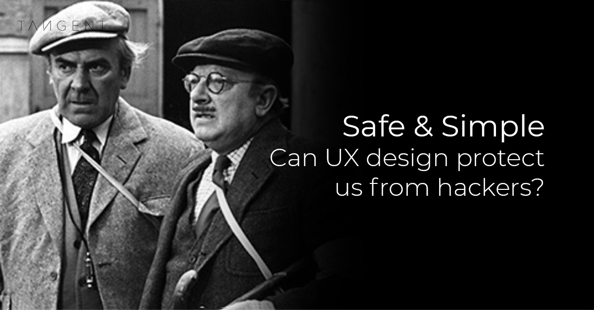 Security & UX Design | Article for Tangent
