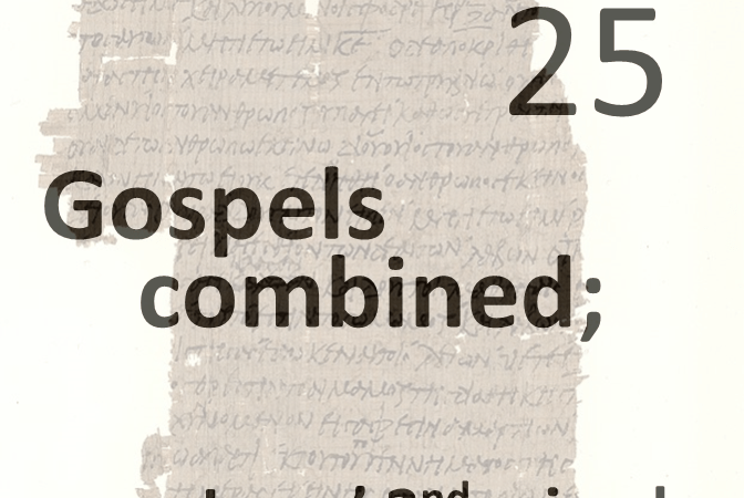Gospels combined 25 - jesus 2nd miracle