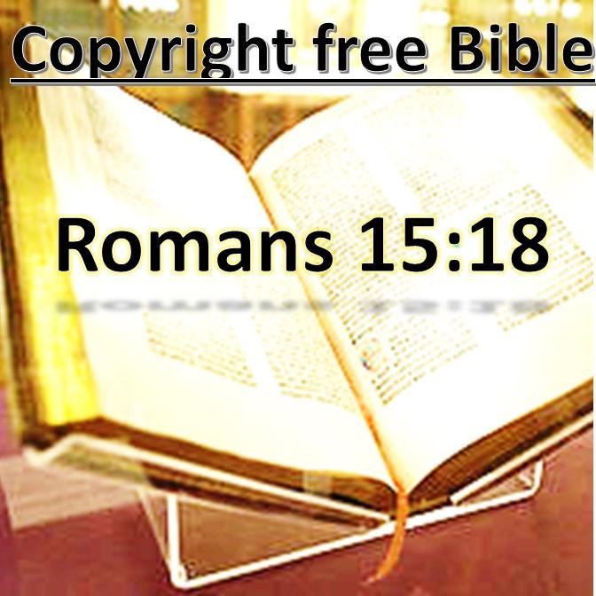 Rom 15:18