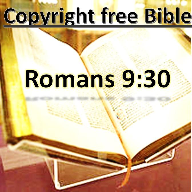 Rom 9:30