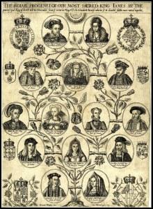 bloodline of King James