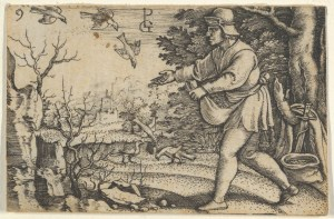 Parable of the sower from an old book