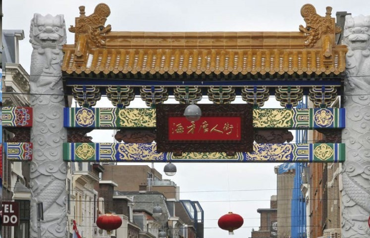 China Town Shopping Area
