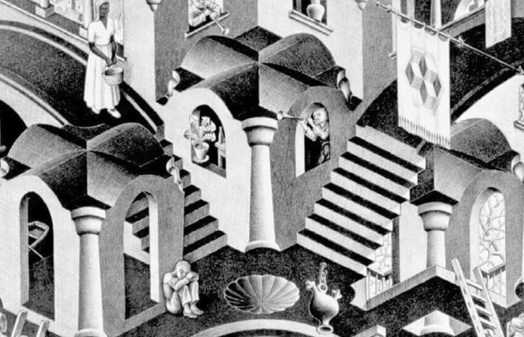 Escher at the palace