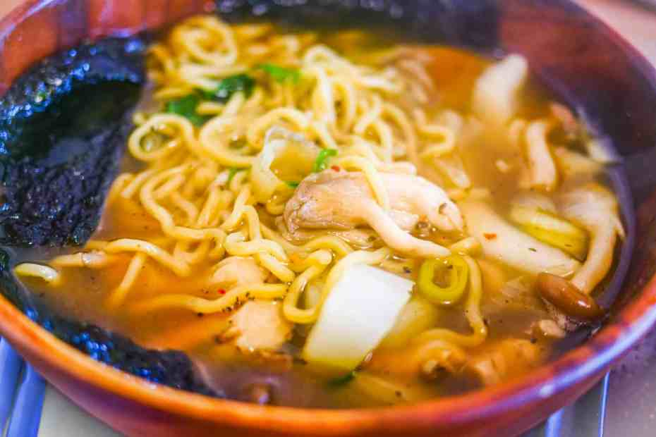 Navigating This Space-Japanese Ramen With A Twist