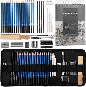 40PCS Drawing Pencils Art Set
