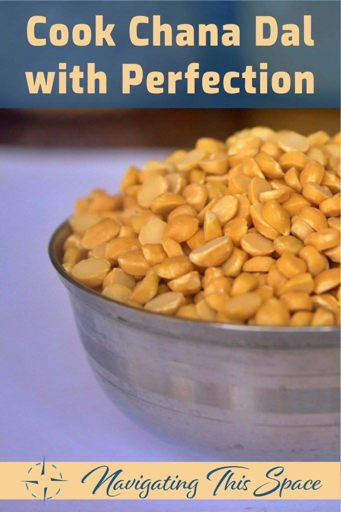 Cook chana daal with perfection