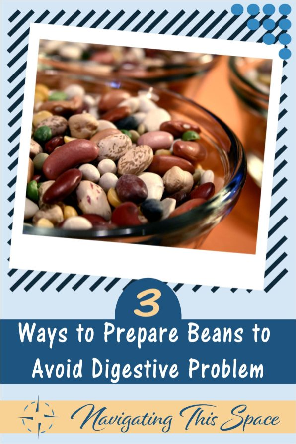 cooking beans in a bowl, learn how to cook beans to avoid digestive problems
