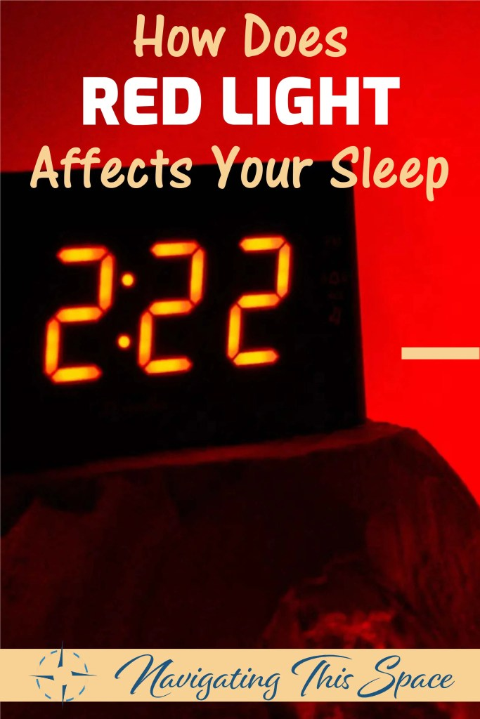 How does red light affects your sleep