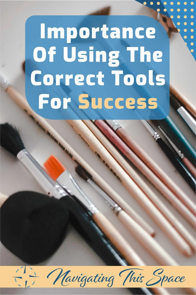 artist paint brushes, using the correct tools for success