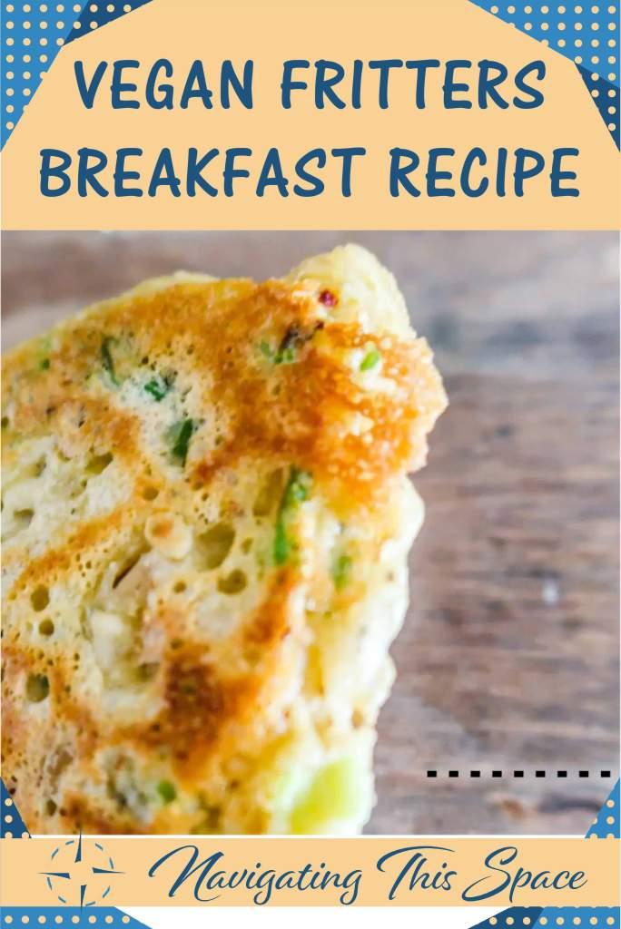Vegan Fritters Breakfast Recipe