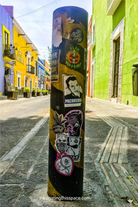 Famous street in Puebla Mexico showing photography is one of the best hobbies for introverts