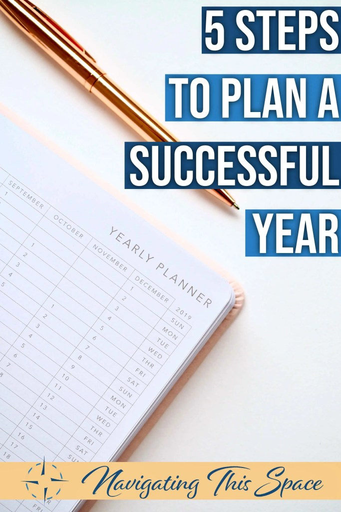 5 Steps to plan a successful year