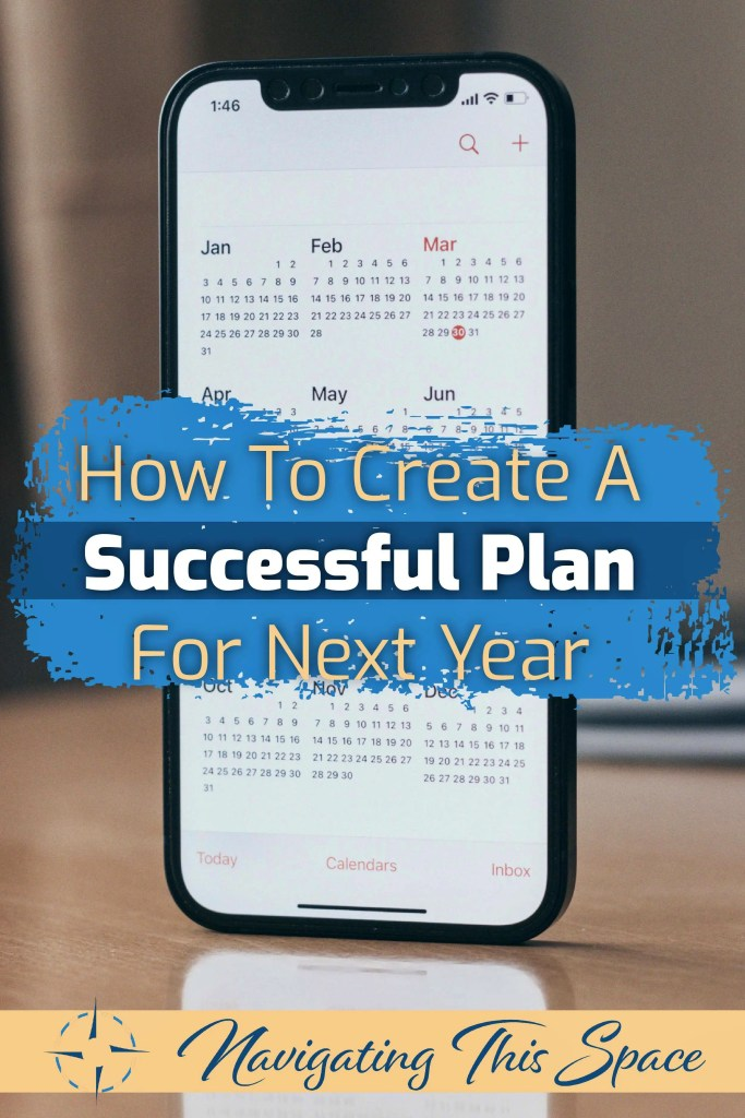 How to create a successful plan for next year