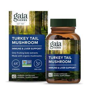 Turkey Tail Mushroom Immune Support - Gaia Herbs