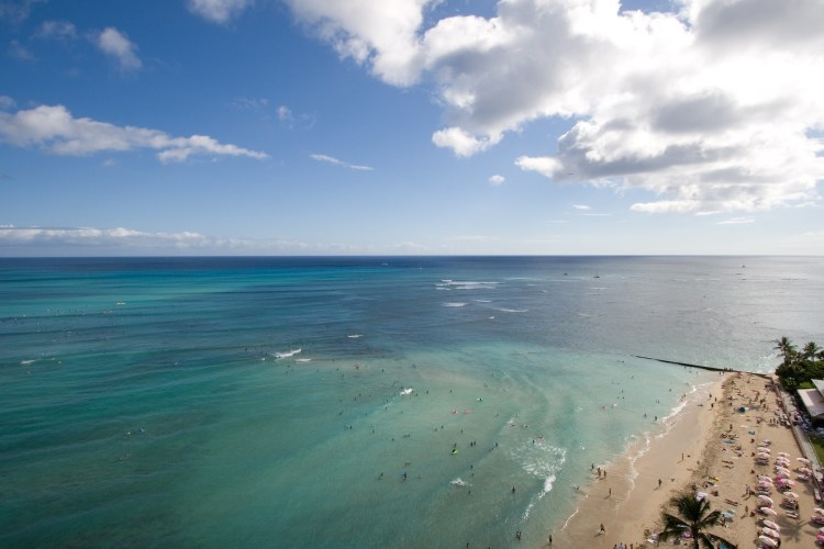 best beaches, waikiki