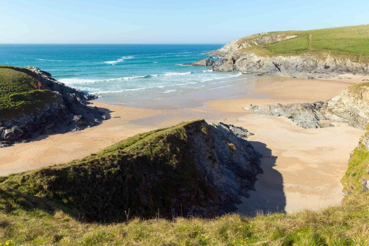 best beaches, porth joke cove