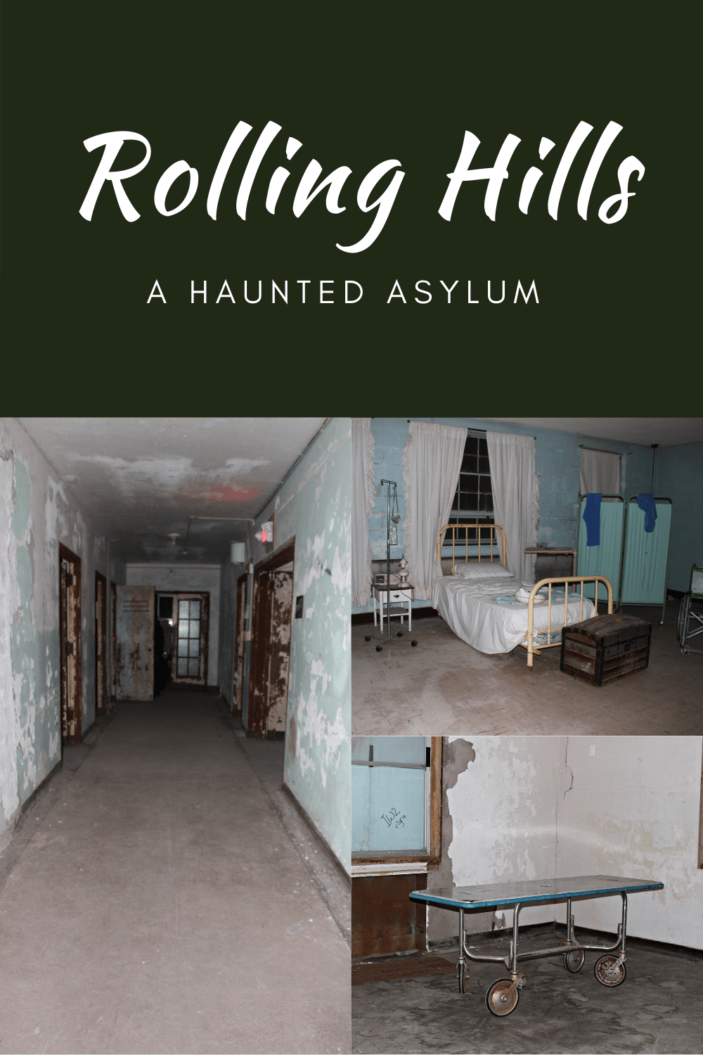 A haunted asylum sitting in a small, secluded town, Rolling Hills functioned for many years as a poor house for those who couldn't care for themselves. It is believed that many never left!