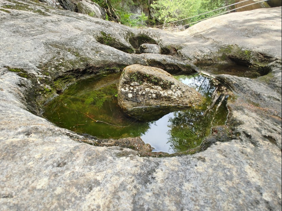 potholes, natural stone bridge and caves