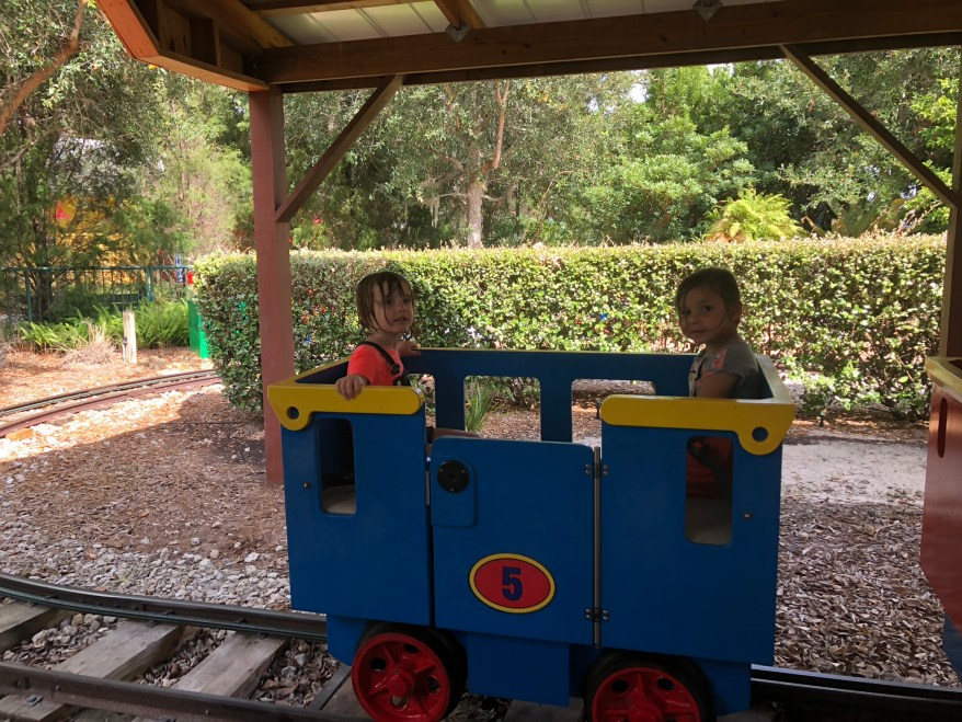 The Duplo Train, Legoland Florida