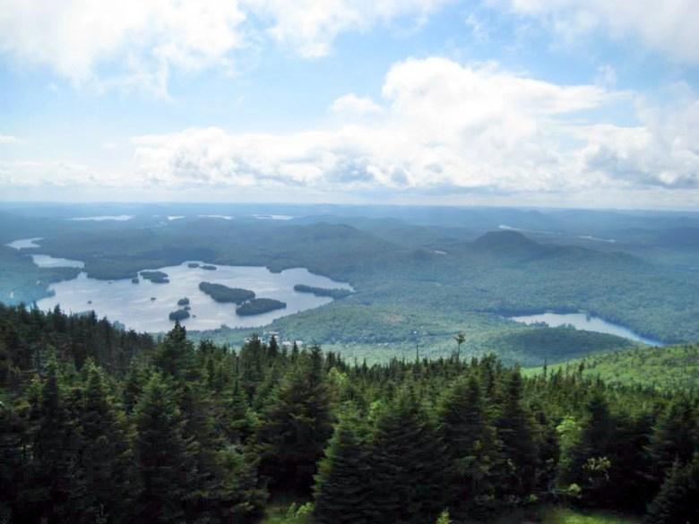 Beginning level Adirondack Hikes.