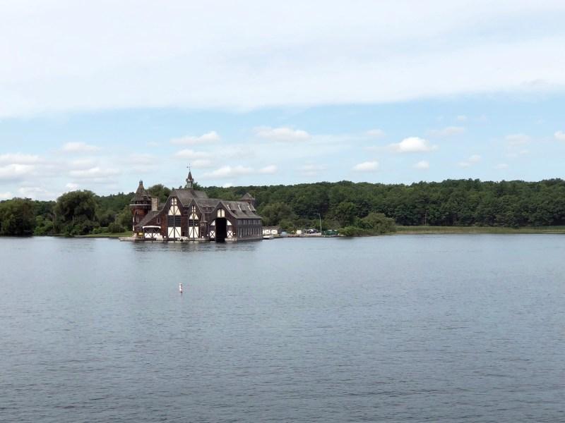 Yacht House. Boldt Castle. Thousand Islands.