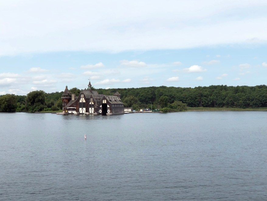 Yacht House. Boldt Castle. Thousand Islands.