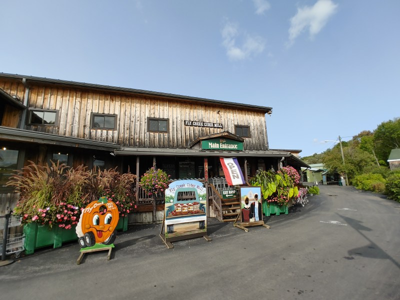 The Marketplace, Fly Creek Cider Mill