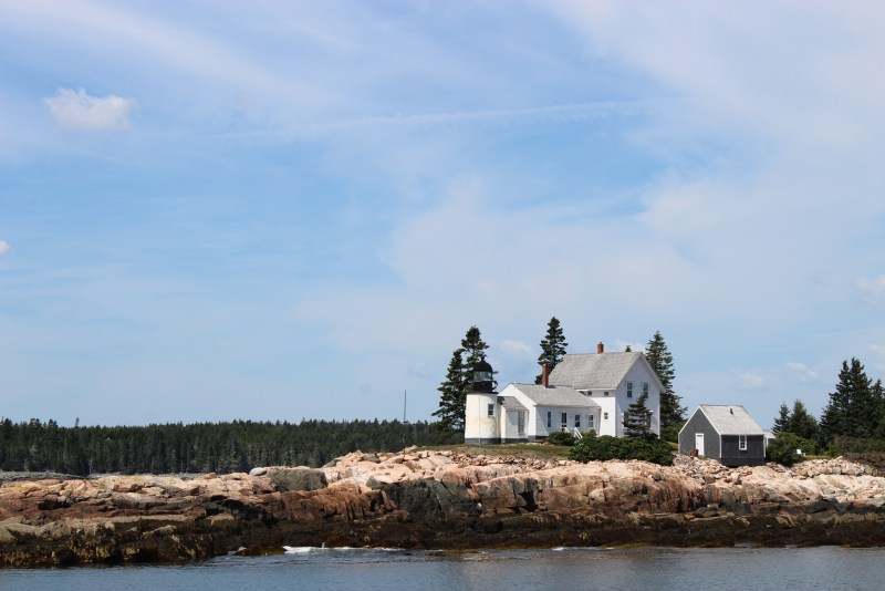 Winter Harbor Lighthouse, Maine.