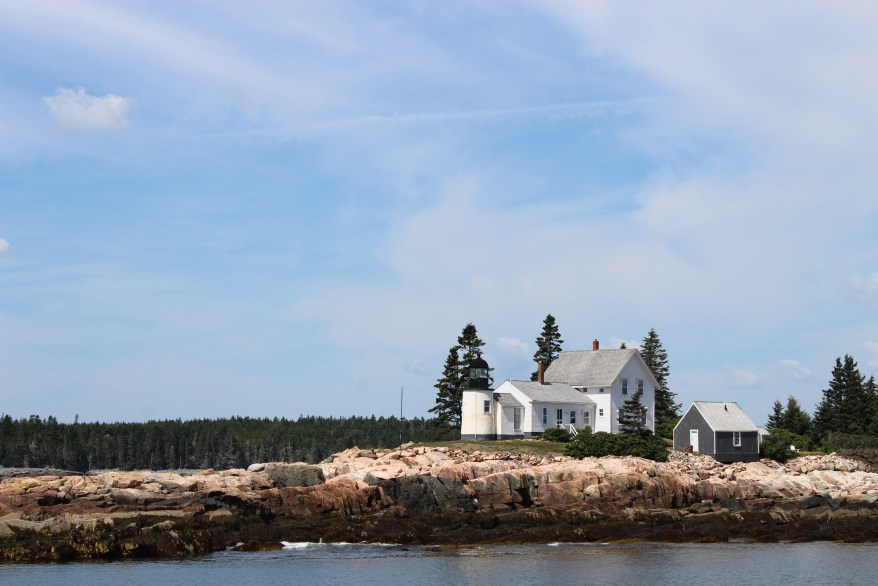 Winter Harbor Lighthouse, Maine.