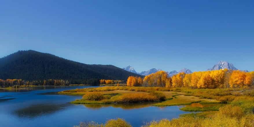 Grand Teton NP, Fall Foliage in the US