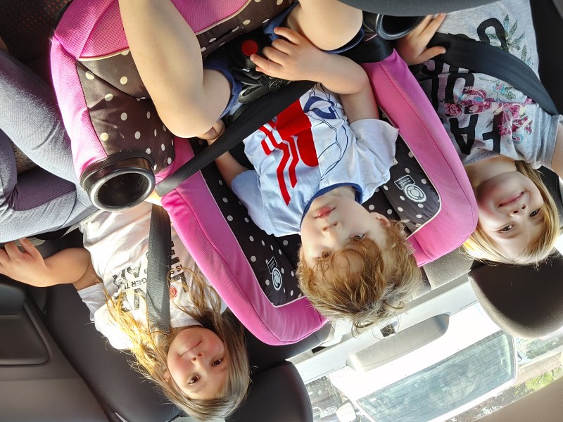 Road tripping with children
