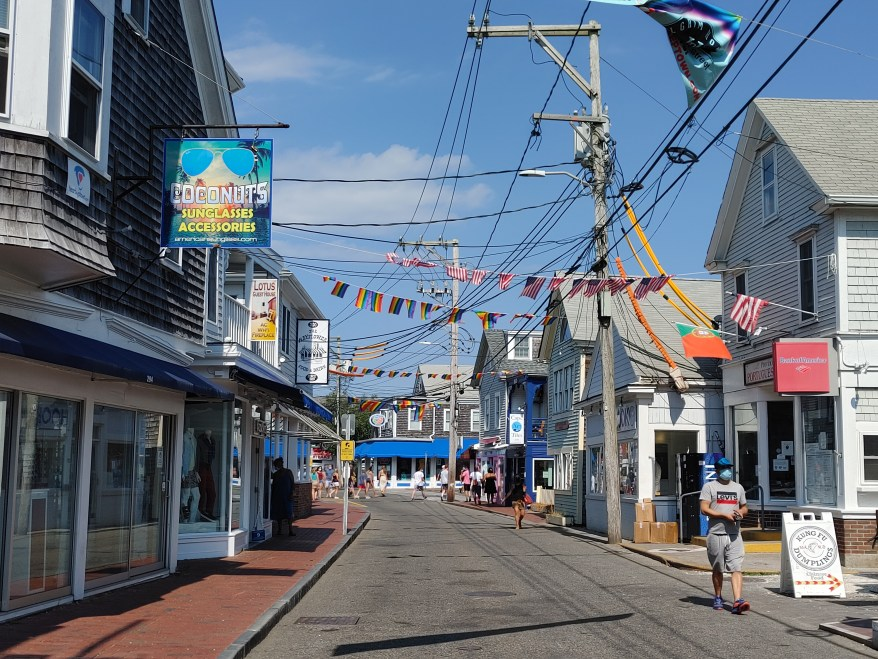 Commercial Street, Provincetown with Kids