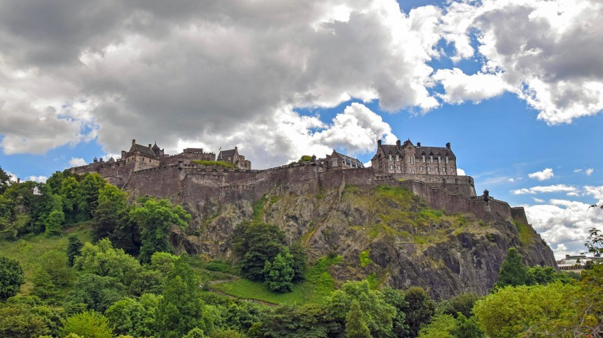 Edinburgh Castle, spookiest destinations