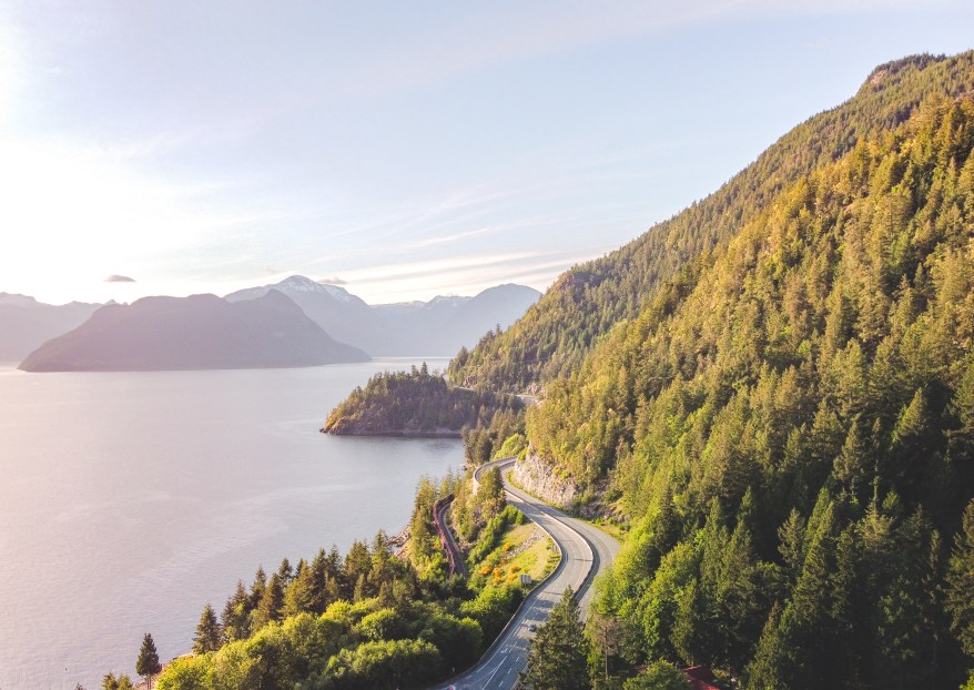 Sea to Sky Highway, epic road trips
