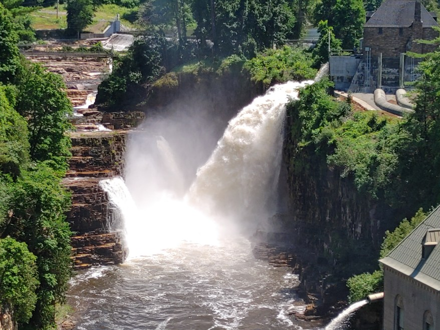 The Ausable Chasm, lake placid with kids