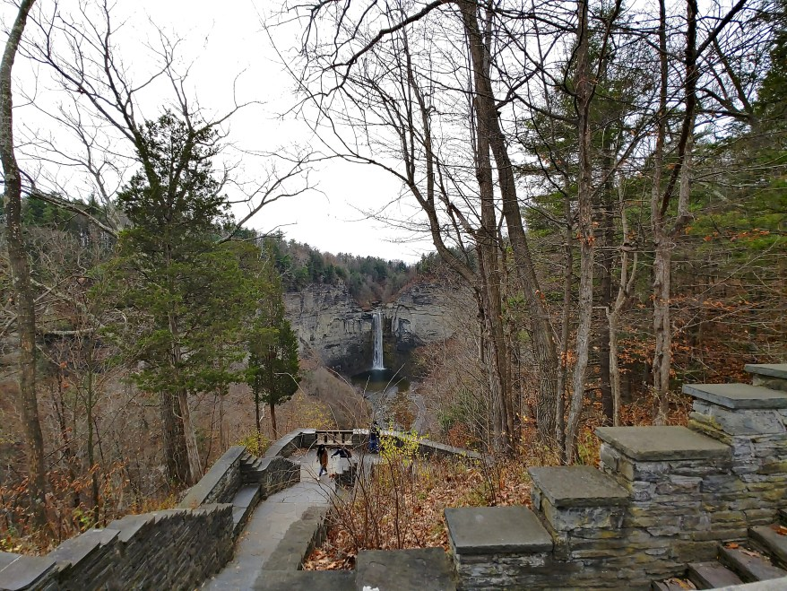 The Falls Overlook view