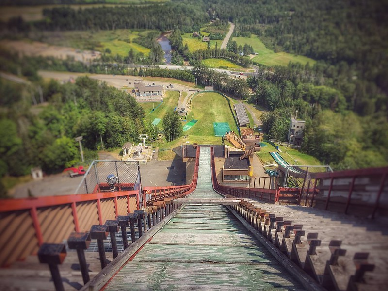 Olympic Ski Jump, Lake Placid with Kids