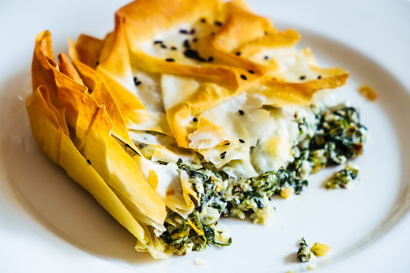 spanakopita, vegetarian food bucket list