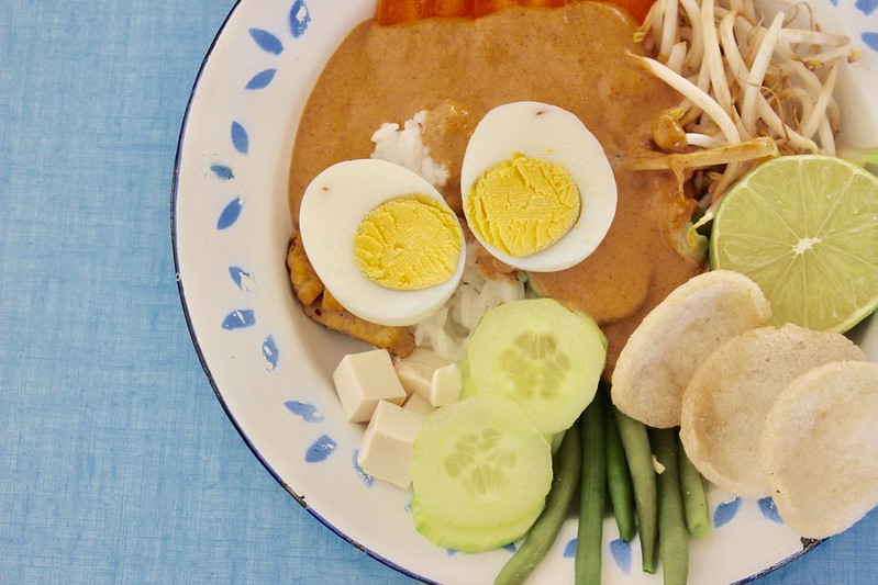 Gado-Gado, Vegetarian Food Bucket List