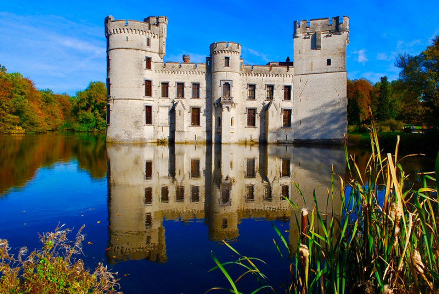 Castle of Boechout at Botanic Garden Meise, best parks and gardens in Brussels